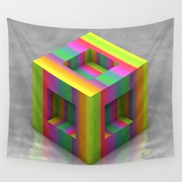 Shift Cubed Wall Tapestry