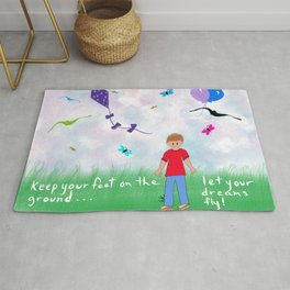 Let Your Deams Fly Rug