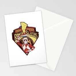 mighty morphin powerslayer Stationery Cards
