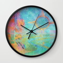 Journeys One Wall Clock