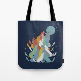 A Pack of Wolfs Tote Bag