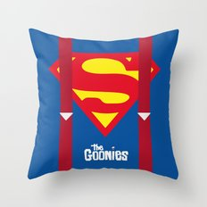 Alternative Goonies Cover Throw Pillow