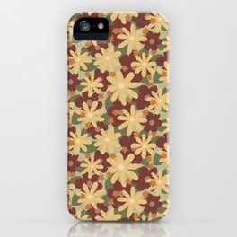 Lost In The Woods - Floral Camouflage pattern iPhone Case