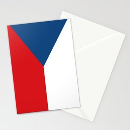 Flag of Czech Republic Stationery Cards