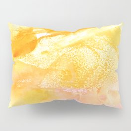 Pollen Watercolor Pillow Sham