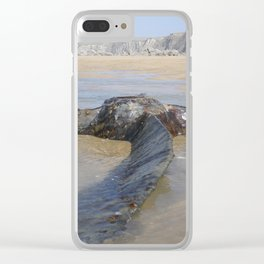 PROPELLER FROM 1917 SHIPWRECK OF SS BELEM CORNWALL Clear iPhone Case