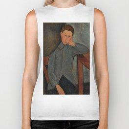 "Amedeo Modigliani ""The Boy"" Biker Tank"