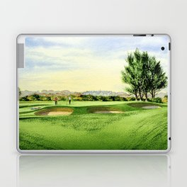 Carnoustie Golf Course Scotland 13th Green Laptop & iPad Skin