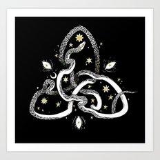 Star Serpent Art Print