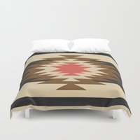 youtube Duvet Covers featuring Aztec 1 by Aztec