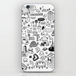 MIL-LOGOS iPhone Skin