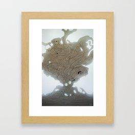 Pearlescent Framed Art Print