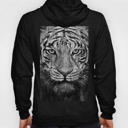 Tiger Black & White Hoody