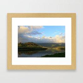 Klamath River, CA Framed Art Print