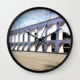 Arco da Lapa -Rio de Janeiro  Wall Clock