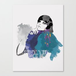 Would You Please Canvas Print
