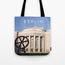 EAST BERLIN THEATRE - VOLKSBÜHNE Tote Bag