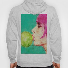 Bubble gum girl Hoody