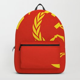 Russian Communist Flag Hammer & Sickle Backpack