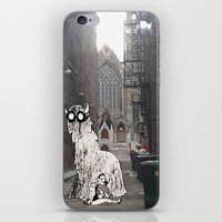 pittsburgh iPhone & iPod Skins featuring Pittsburgh Lurkers by Christine Eglantine