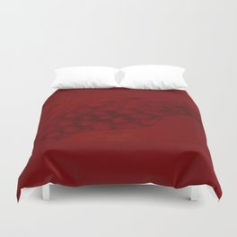 The uncanny pomegranate Duvet Cover