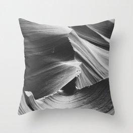 ANTELOPE CANYON IV / Arizona Desert Throw Pillow