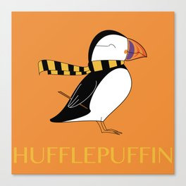 Hufflepuffin Canvas Print