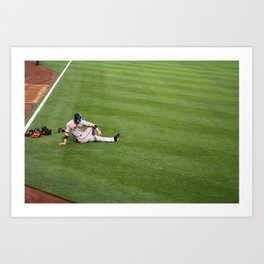 Giants Baseball Art Print