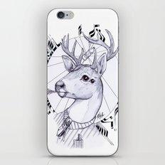 Deer in Dress Code  iPhone & iPod Skin