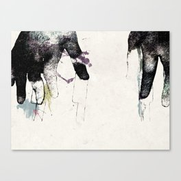 Playing Piano Canvas Print