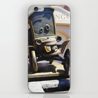 stanley kubrick iPhone & iPod Skins featuring Stanley by Around The Park