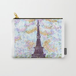 Eiffel Tower Pointillism by Kristie Hubler Carry-All Pouch