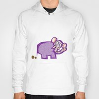 poop Hoodies featuring Elephant poop by Jamie Clayton