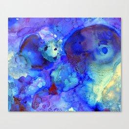 Dream of Blue Canvas Print