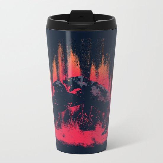 Brawl Metal Travel Mug