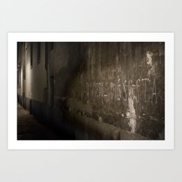 + Devieto di sosta - Firenze (ITA) Art Print