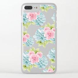 Succulents Flower Dream #1 #decor #art #society6 Clear iPhone Case