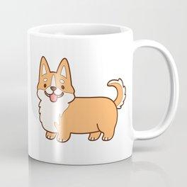 Keep calm and corgi on - red Coffee Mug