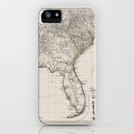 Former British Colonies In the Southern States of the USA iPhone Case
