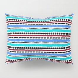 Lines and Dots 2 Pillow Sham