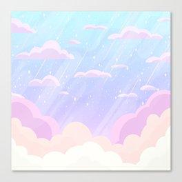 Pastel Heaven Canvas Print