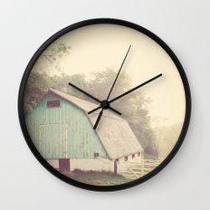 Morning Haze  Wall Clock