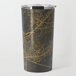 Sacramento Map Travel Mug