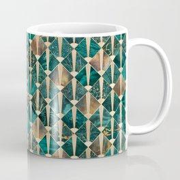 Art Deco Tiles - Ocean Coffee Mug