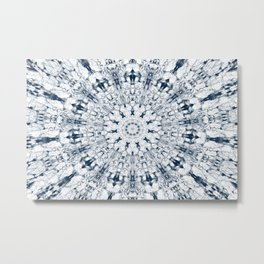 Lucky Angel Mandala Metal Print