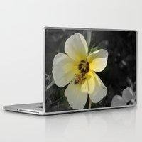 bee Laptop & iPad Skins featuring Bee by Lia Bernini