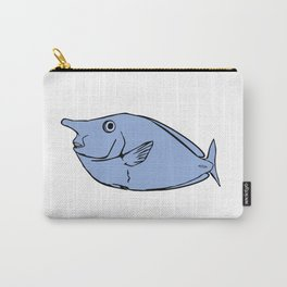 Unicorn fish illustration Carry-All Pouch