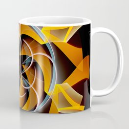 Sun dance, fractal abstract Coffee Mug