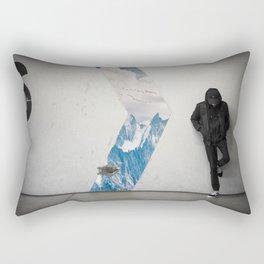 six arrow rap Rectangular Pillow