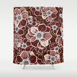 Mandala Flowers 13 Shower Curtain